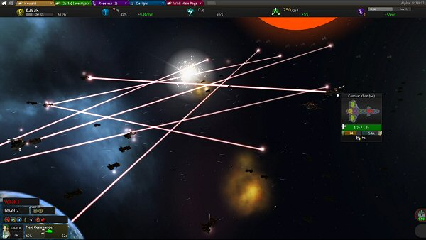 Star Ruler 2 (Alpha) | Space combat
