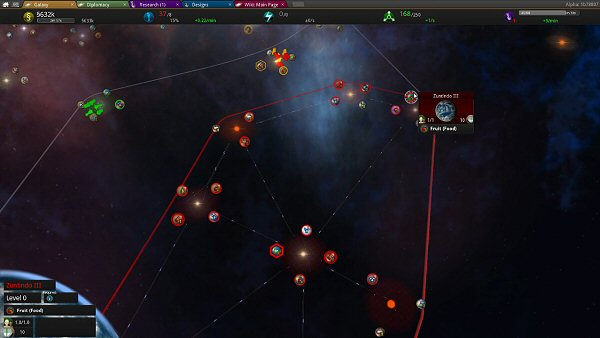 Star Ruler 2 (Alpha) | Starmap