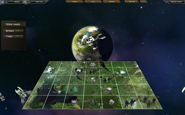 StarDrive | Tactical ground combat