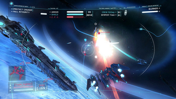 Strike Suit Zero | Space combat