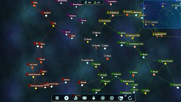 Galactic Inheritors   A Space 4X Strategy Game by Crispon Games and Argonauts Interactive