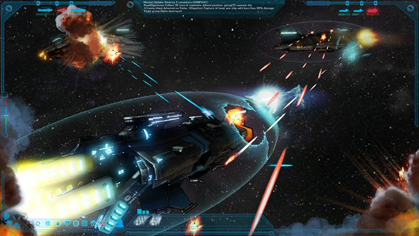 The Mandate - Battles from space are orchestrated from the classical perspective (e.g. Star Trek Online, Klingon Academy) - Concept work