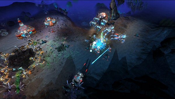 Tryst: A new sci-fi RTS game