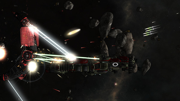 Void Destroyer   Good lighting effects create a 3D graphical experience