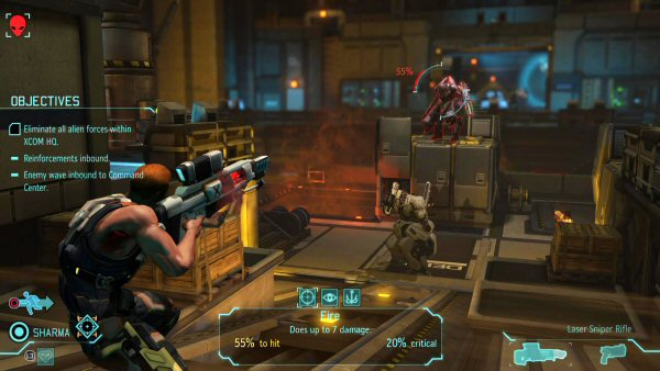 XCOM: Enemy Within | Base defense screenshot 2
