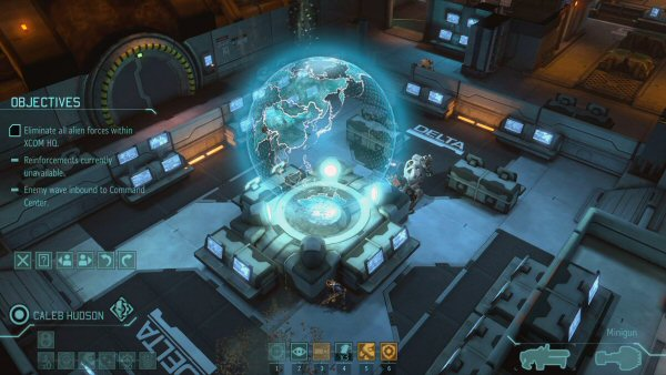 XCOM: Enemy Within | Base defense screenshot 4