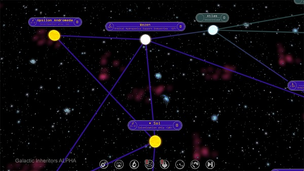 Galactic Inheritors | A Space 4X Strategy Game by Crispon Games
