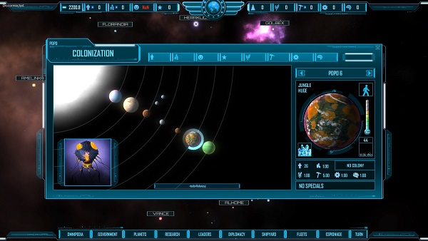 M.O.R.E. | A turn-based Space 4X Strategy Game by IdeaLcenter
