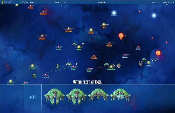 Stars in Shadow | A turn-based Space 4X Strategy Game by Sven Olsen and Jim Francis