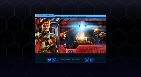Sid Meier's Starships | Wonder Build Screen