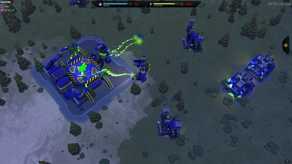 Planetary Annihilation | Commander and Fabricator boosting Production