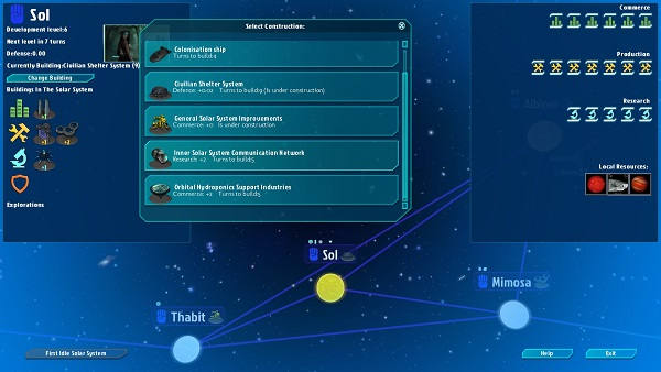 Galactic Inheritors | System Management