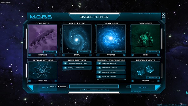 M.O.R.E. | Diversity of game options