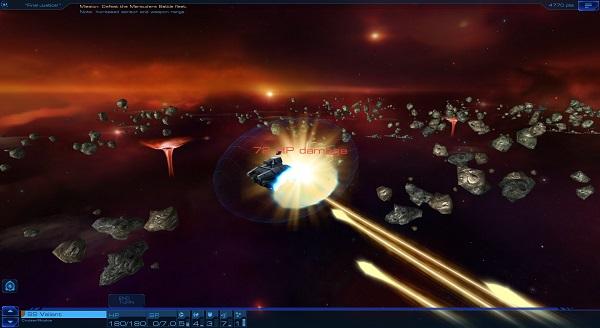 Sid Meier's Starships | Laser Impact