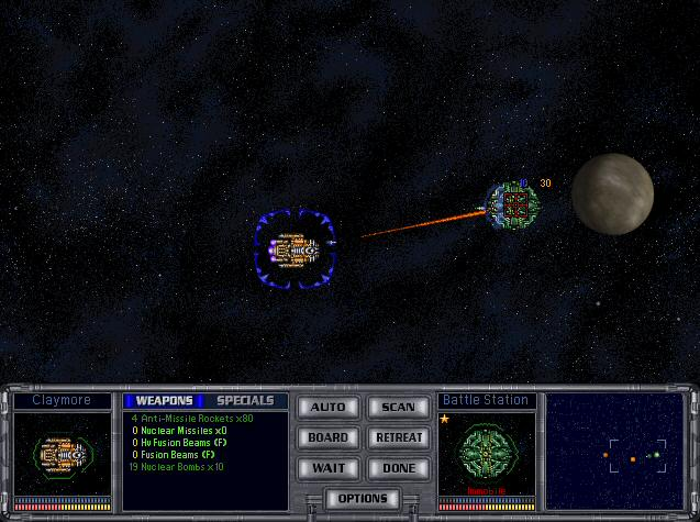 MOO2 Space Combat