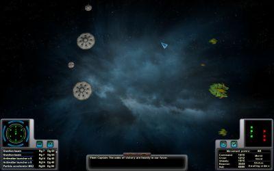 Aphelion Tactical Space Combat Screen