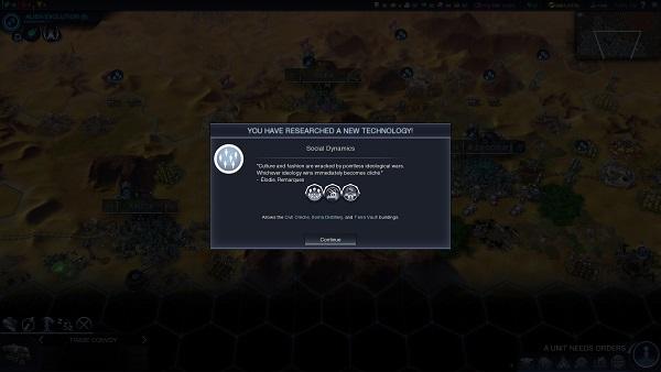 Civilization: Beyond Earth | Tech Quote