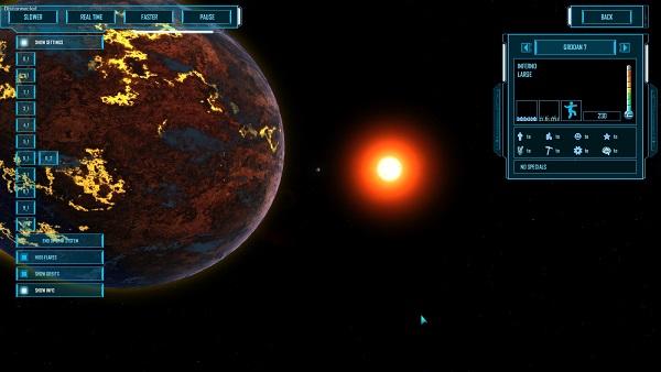 M.O.R.E. | Star system view