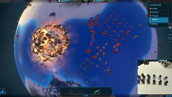 Planetary Annihilation | Massive Explosions