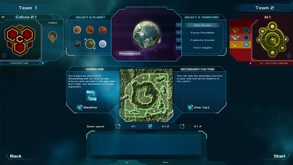 Etherium | Map Selection