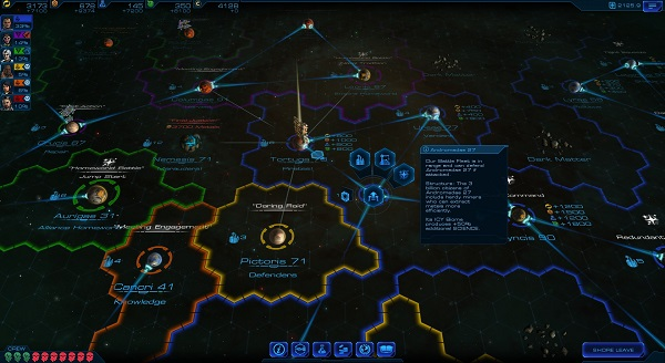 Sid Meier's Starships | Galaxy Map - Strategy Layer
