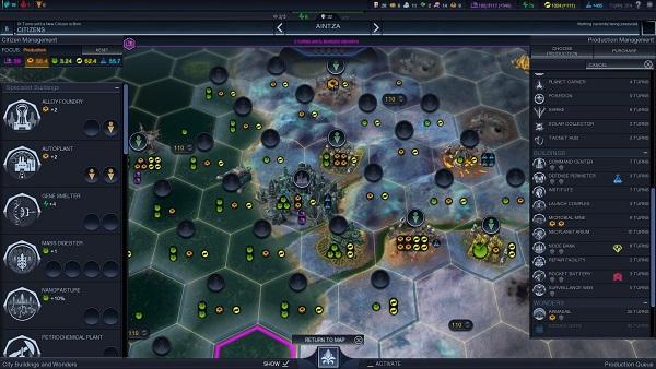 Civilization: Beyond Earth | City Management