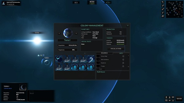 Colony Screen