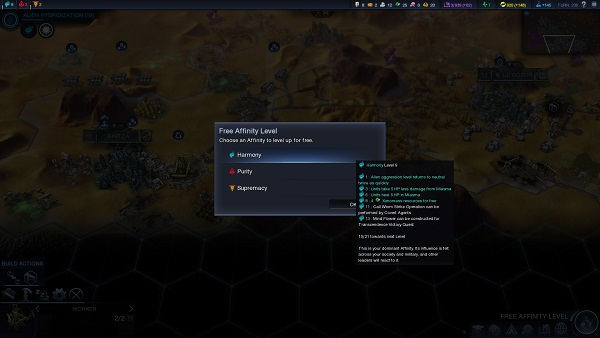 Civilization: Beyond Earth | Affinity Choice