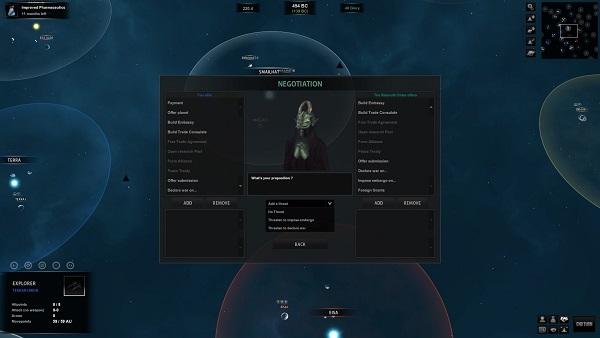 Diplomacy Screen