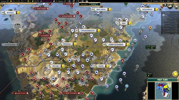 Civilization 5: Brave New World - Scramble for Africa scenario