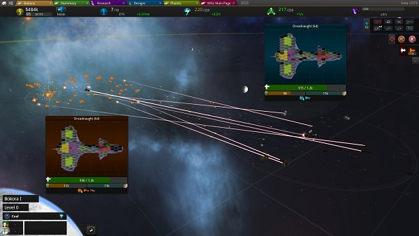 Star Ruler 2 | Warfare between fleets
