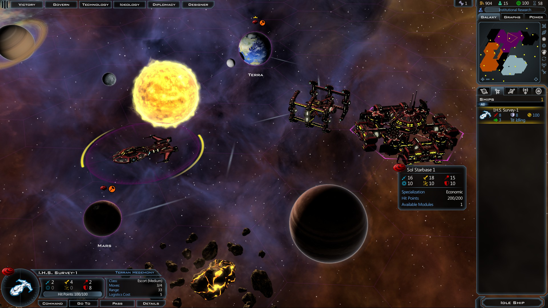 Galactic civilizations iii review spacesector galactic civilization iii a turn based space 4x strategy game by stardock entertainment malvernweather Gallery
