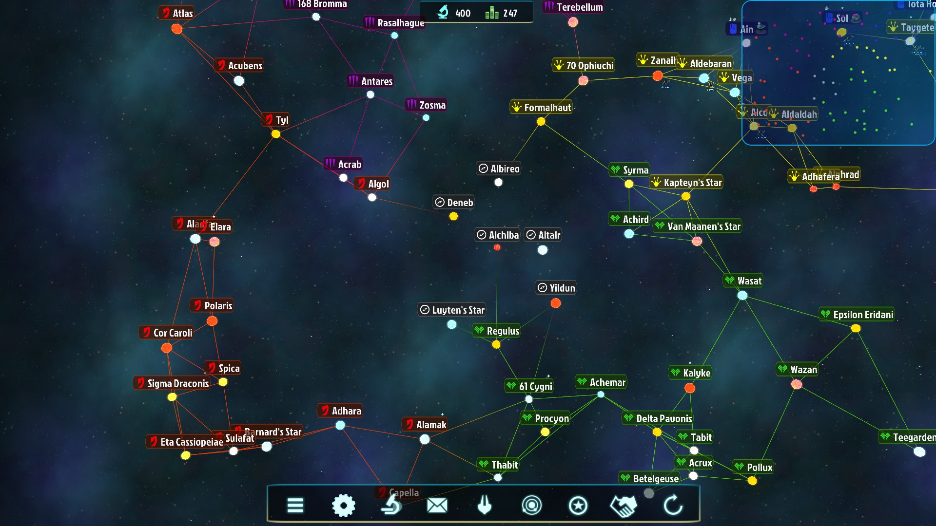 Galactic Inheritors Review SpaceSectorcom - Interactive space map