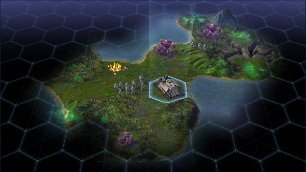 Sid Meier's Civilization: Beyond Earth | Setting up an outpost