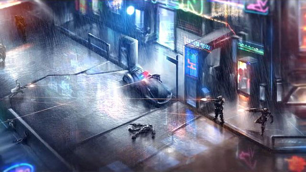 Satellite Reign - A real-time, class-based strategy game, set in an open world cyberpunk city