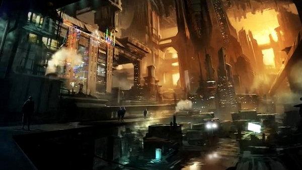 Satellite Reign - A dystopian metropolitan city
