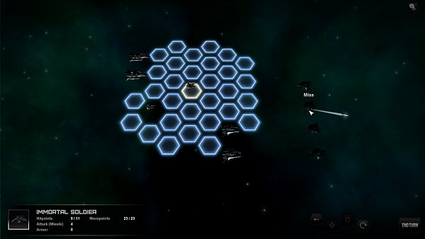 Star Lords | Turn-based tactical combat screenshot