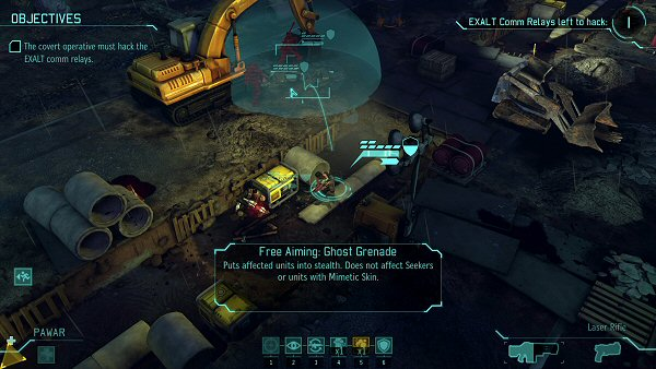 XCOM: Enemy Within | Covert Extraction Free Aiming Ghost Grenade