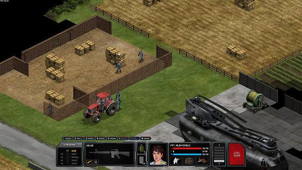 Xenonauts | Ground combat UI