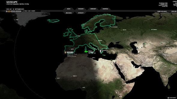 Xenonauts | Geoscape