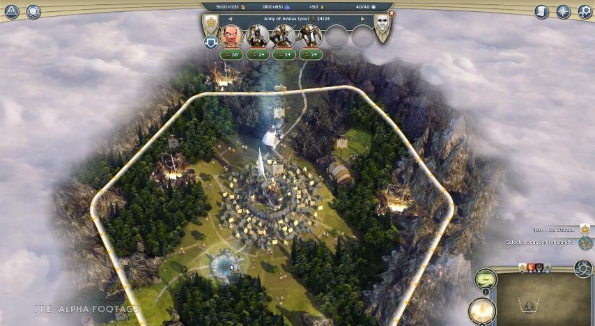 Age of Wonders 3: Pre-Alpha Gameplay Demo Footage