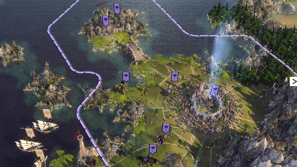 Age of Wonders 3 - World map