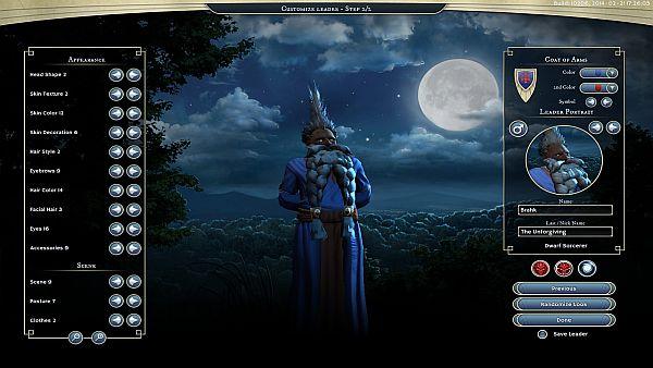 Age of Wonders 3 - Leader Creation