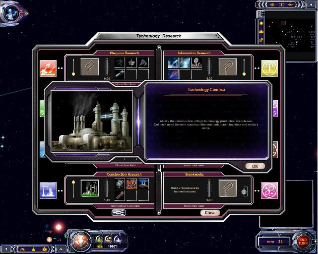 Armada 2526 - Research Screen