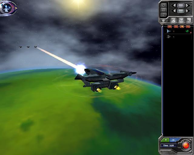 Armada 2526 - 3D Battles: Spaceship perspective