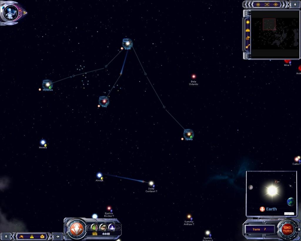 Armada 2526 - Star map