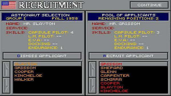 Buzz Aldrin's Race Into Space - Recruitment
