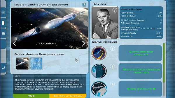 Buzz Aldrin's Space Program Manager - Early Access