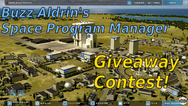 Buzz Aldrin's Space Program Manager | Giveaway contest!