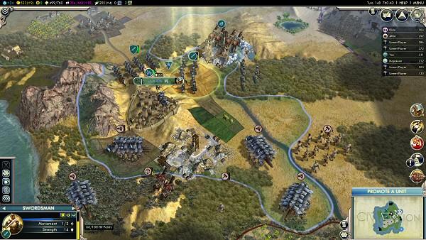 Civ5: Gods & Kings - Ancient Era Combat